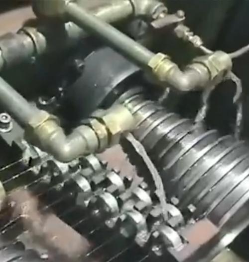 客户铜包铝小线拉丝设备
